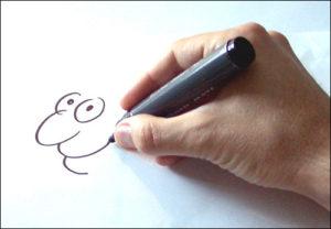 rysownik rysunki satyryczne