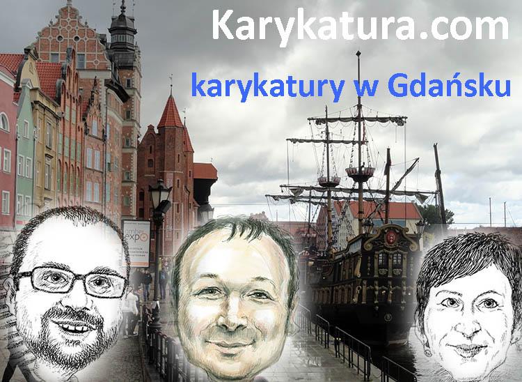 karykatury Gdańsk karykaturzysta