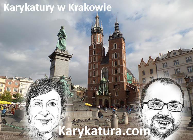 karykatury Kraków karykaturzysta Kraków