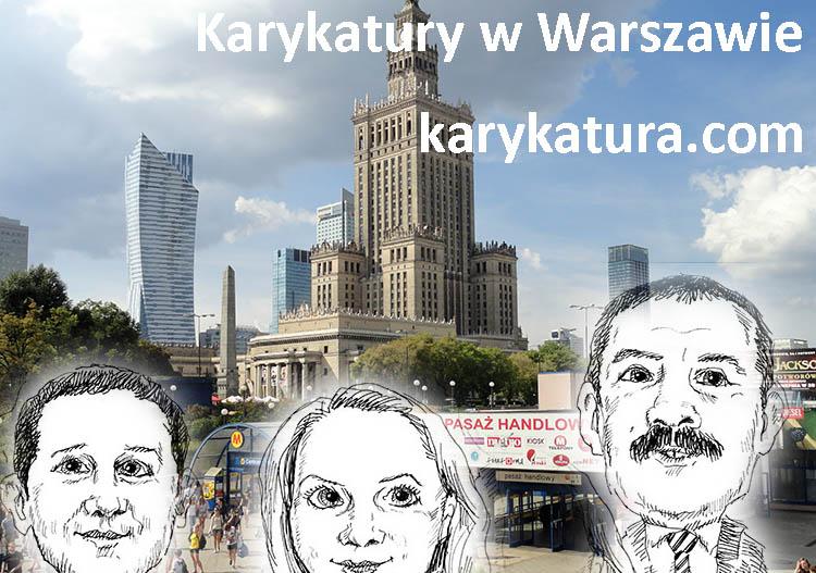 karykatury Warszawa karykaturzysta