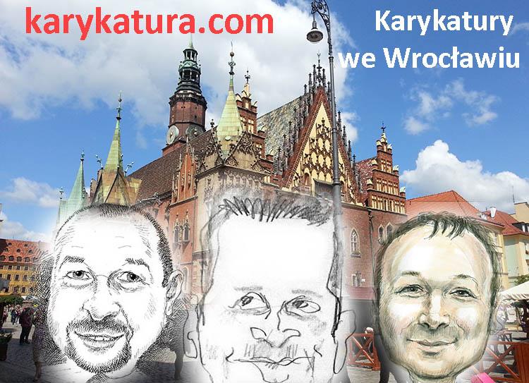 karykatury Wrocław karykaturzysta