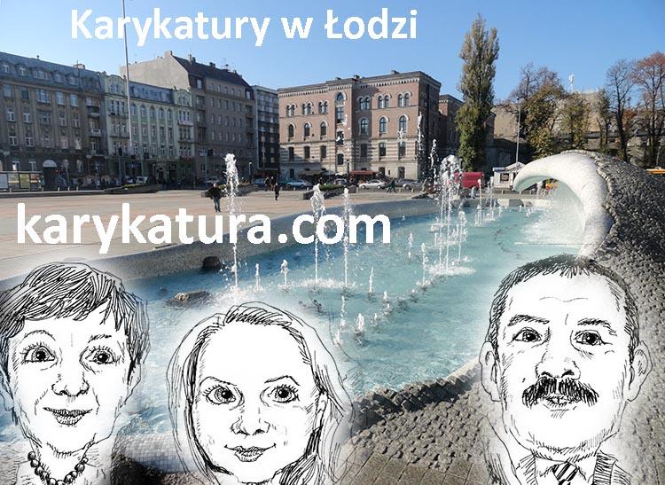 karykatura Łódź karykaturzysta Łódź karykatury