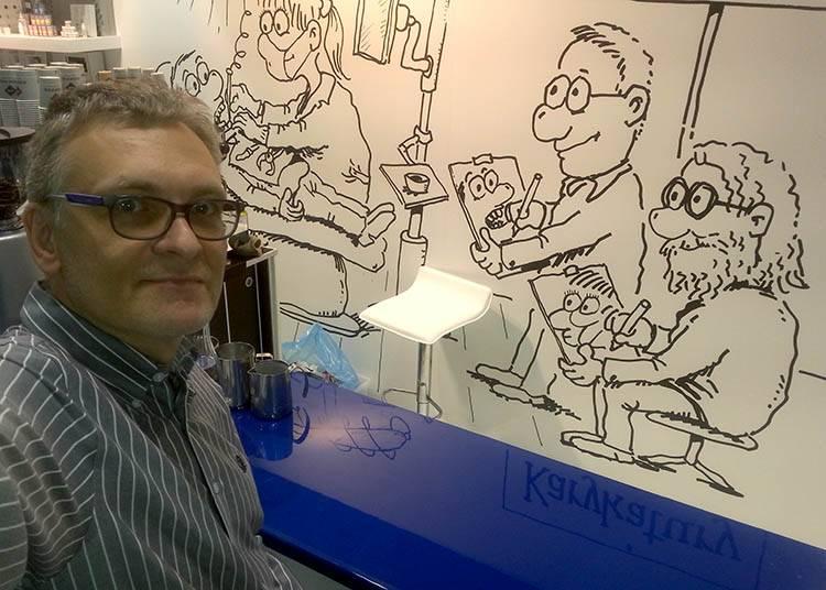 karykaturzysta Warszawa na targi atrakcje