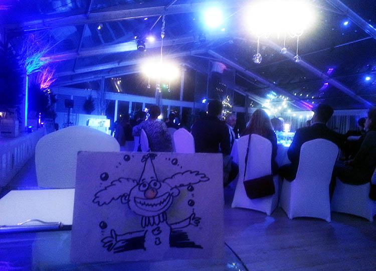 karykaturzysta na event atrakcje karykatury Warszawa