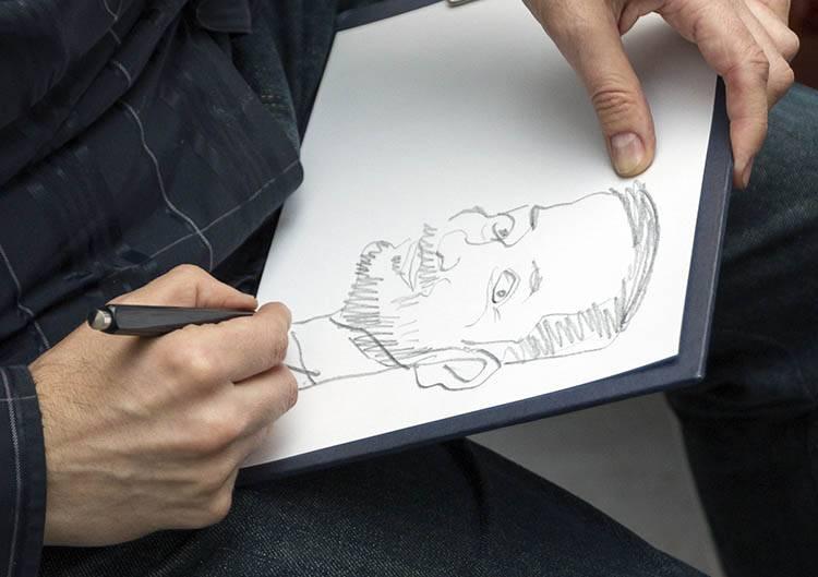 karykaturzysta na wesele atrakcje na event karykatury